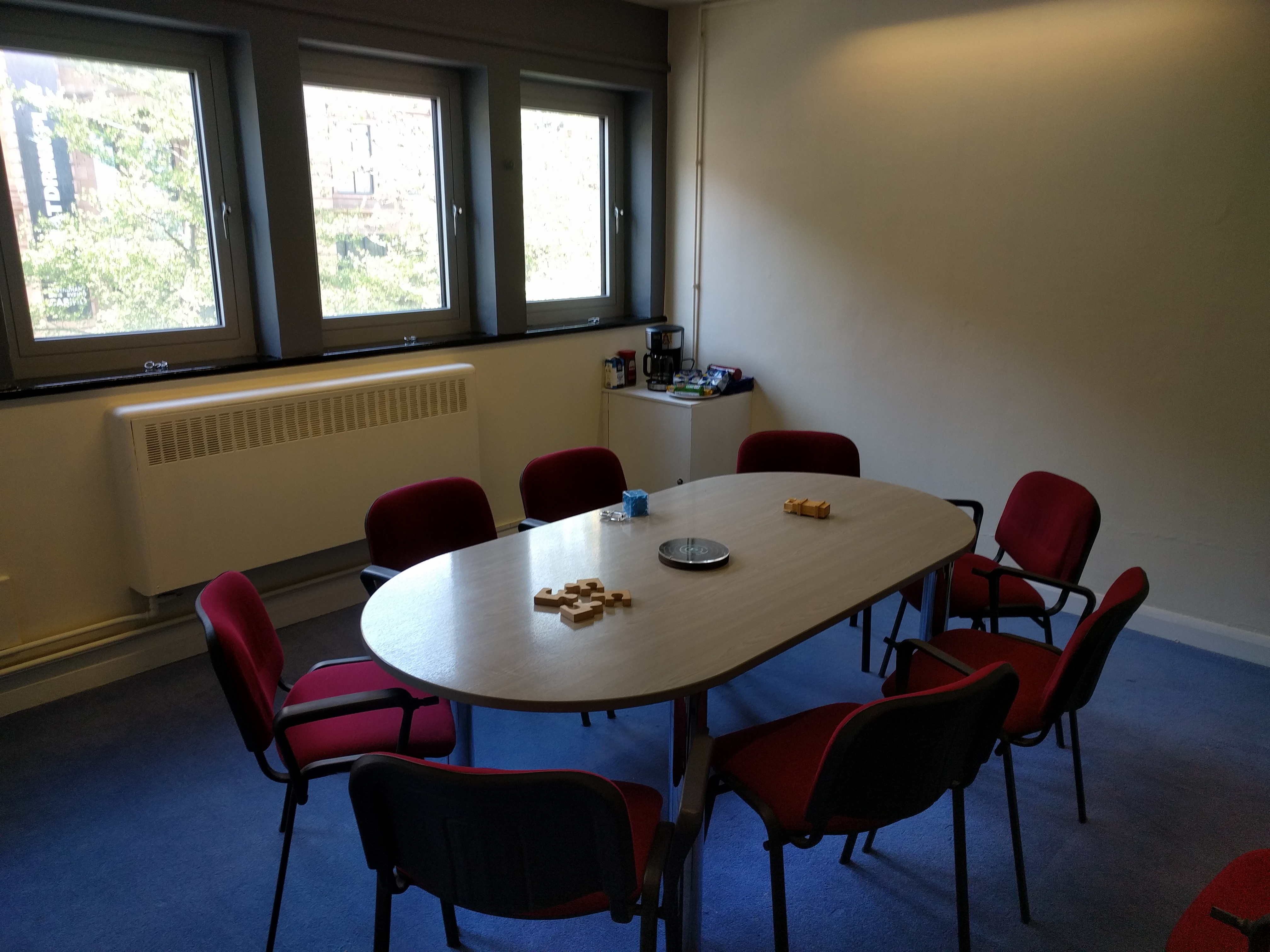Meeting facilities at Cryptology Nottingham suitable for up to 20 people