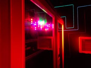 The Cypherdyne v1.5 room at Cryptology Nottingham, great for Hen Dos and Stag Dos