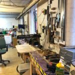 A small selection of tools at Hackspace